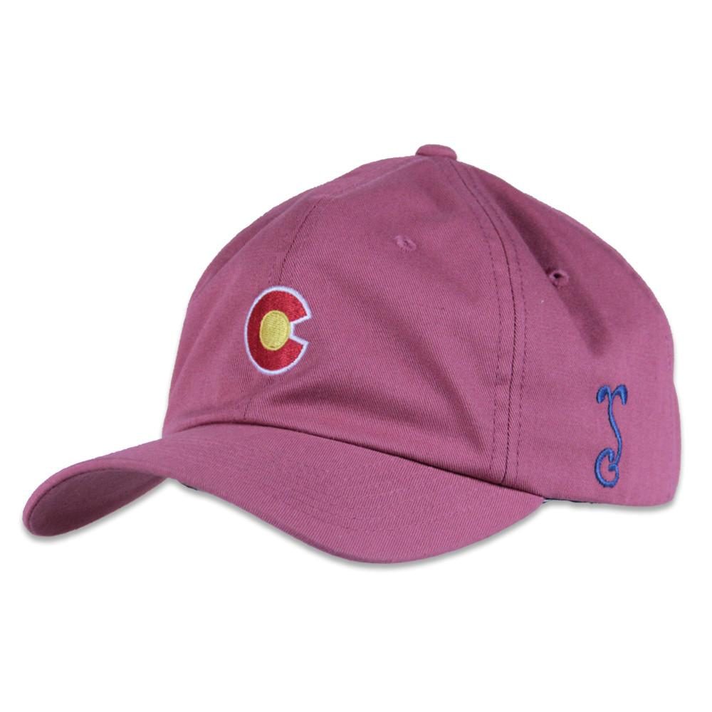 Clay CO Flag Curved Brim Dad Hat