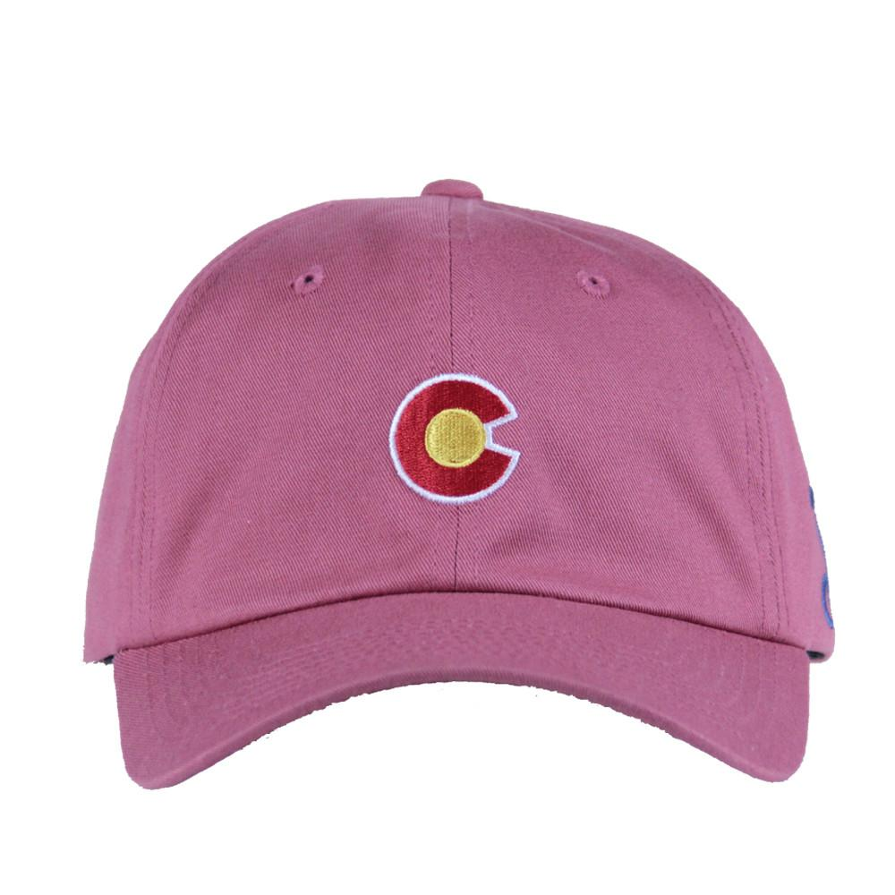Clay CO Flag Curved Brim Dad Hat - Grassroots California - 3