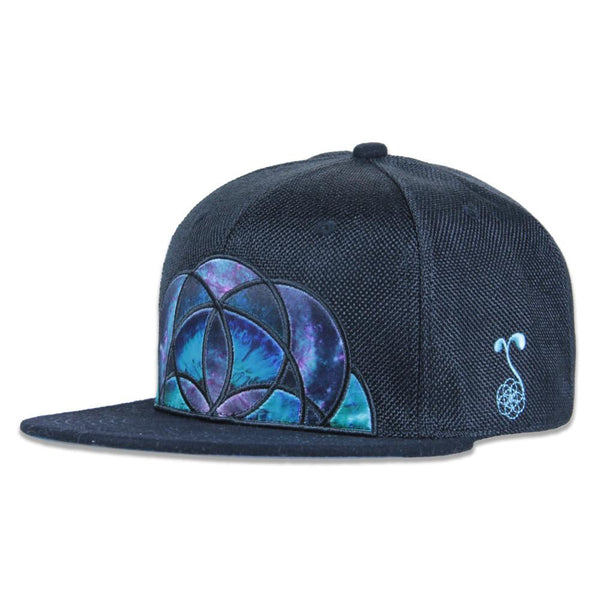 Skydyed V2 Black Snapback - Grassroots California - 1
