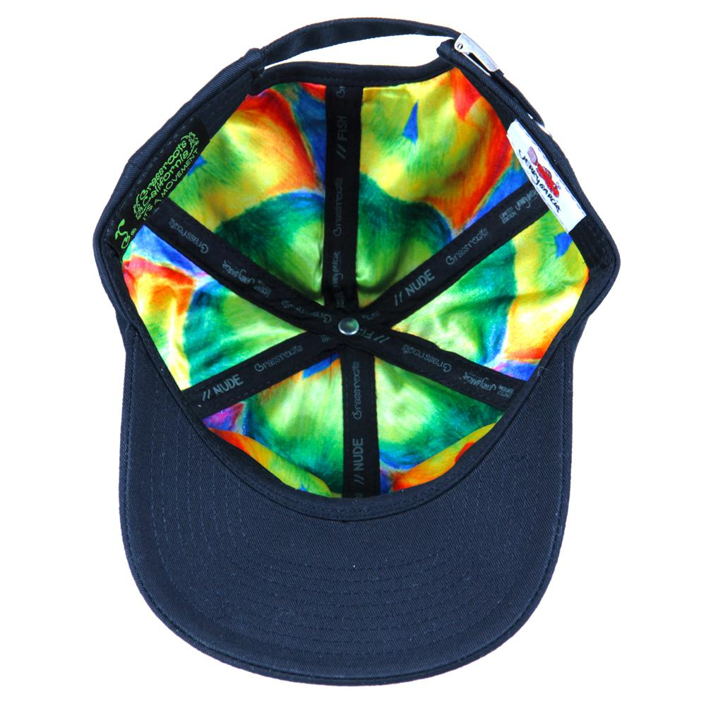 Jerry Garcia Black Burst Dad Hat - Grassroots California - 2