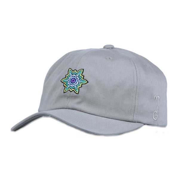 Jerry Garcia Tan Burst Dad Hat - Grassroots California - 1