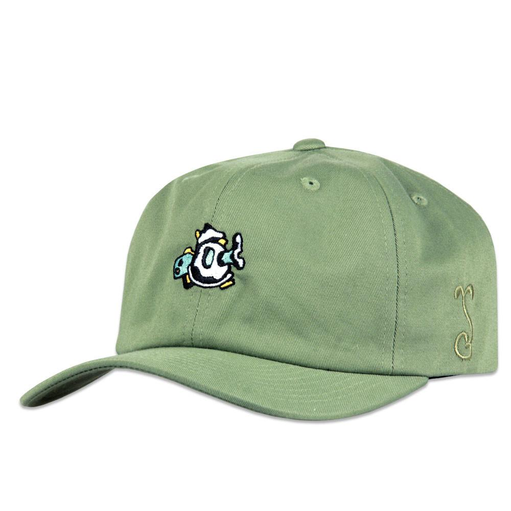 Jerry Garcia Olive Space Container Dad Hat