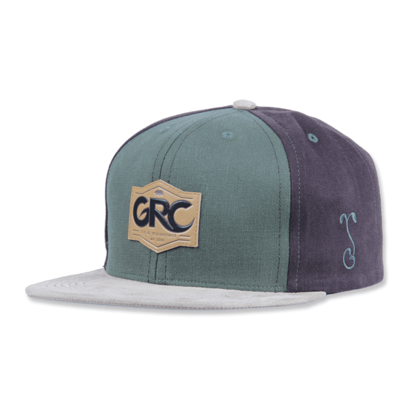 Made in USA GRC Classic Earth Tones Snapback - Grassroots California - 1