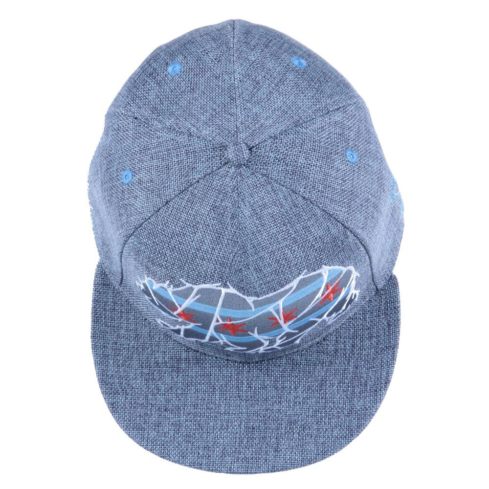 Chicago Mosaic Bear Gray Fitted - Grassroots California - 6