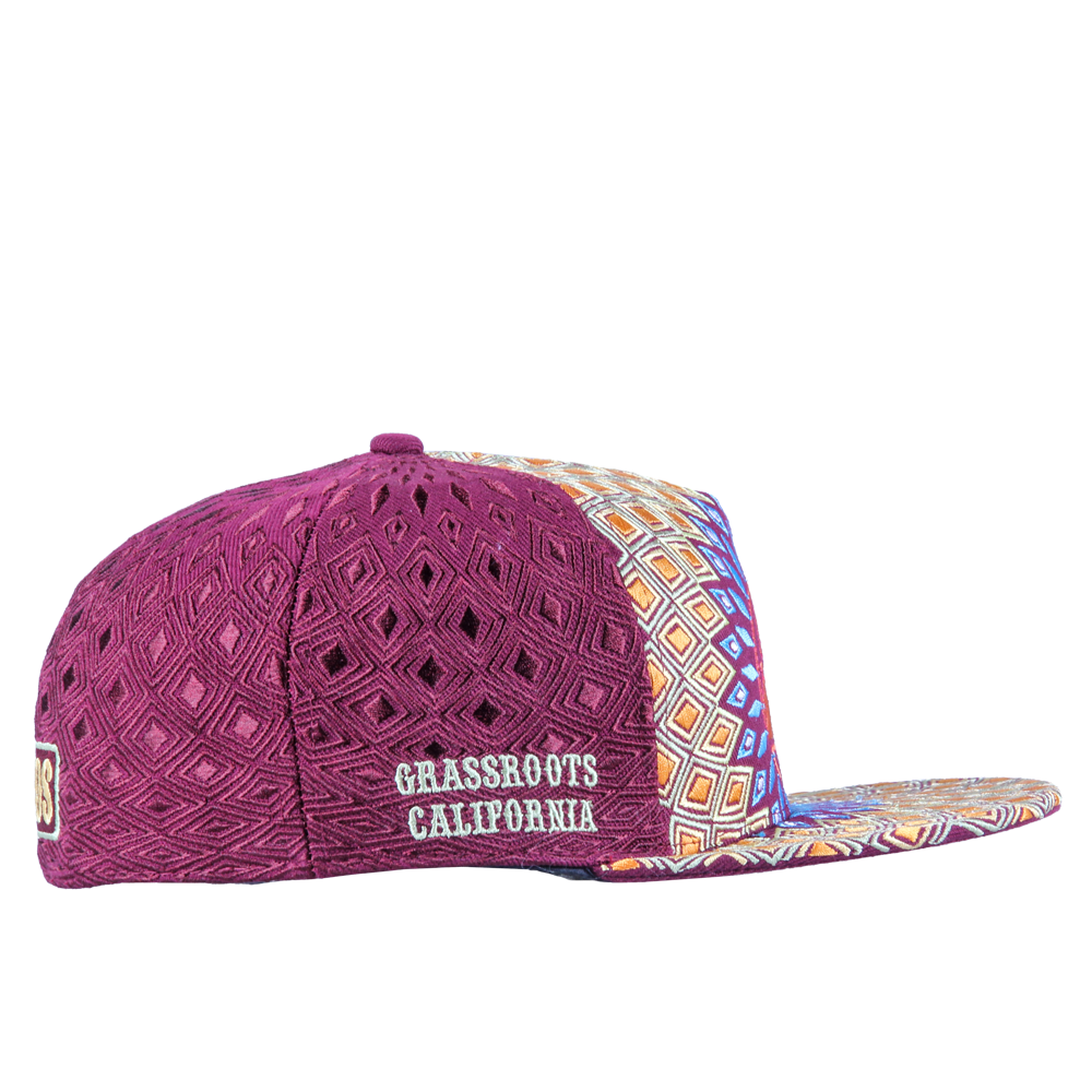 San Pedro Del Sol Burgundy Fitted - Grassroots California - 4