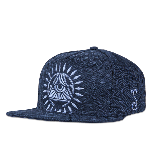 San Pedro Del Sol Black Fitted - Grassroots California - 1