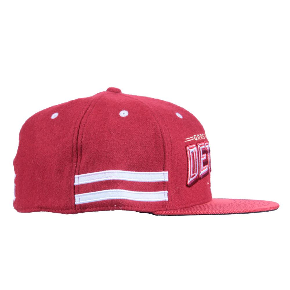Grassroots Detroit Red Snapback - Grassroots California - 3