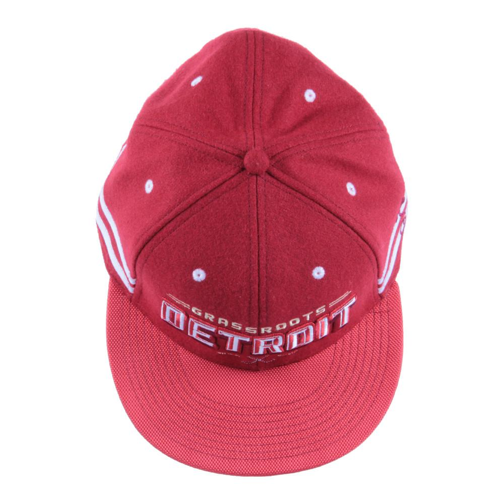 Grassroots Detroit Red Snapback - Grassroots California - 4