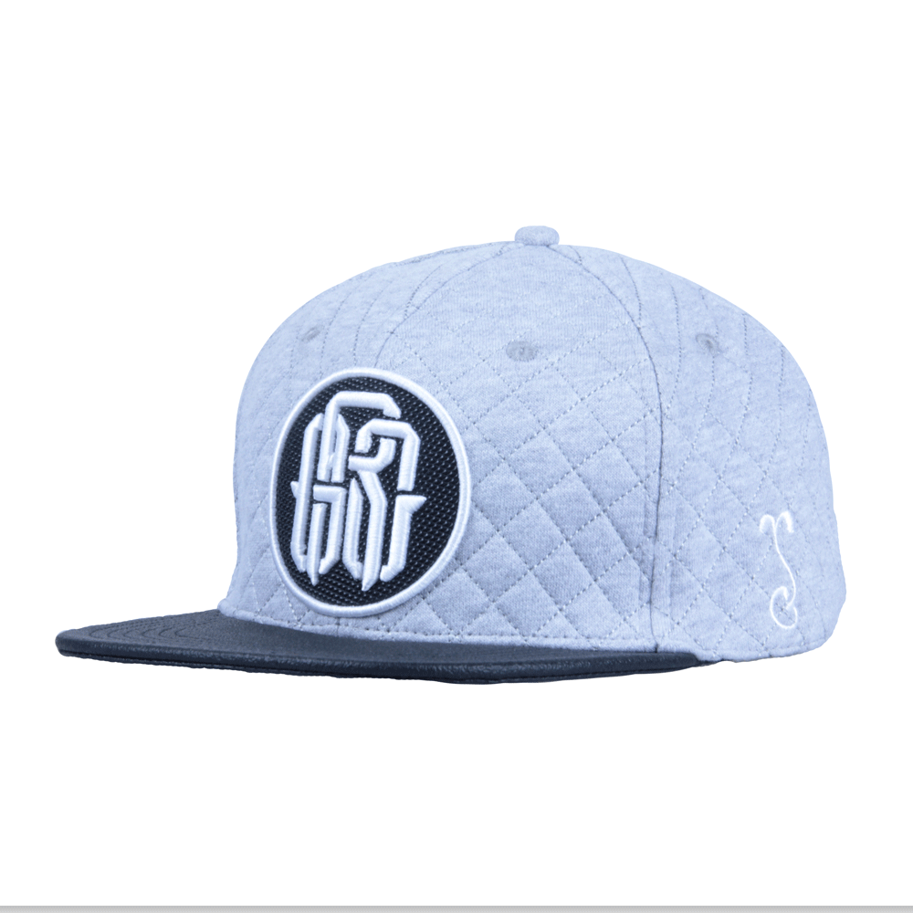 GRC Quilted Monogram Gray Strapback