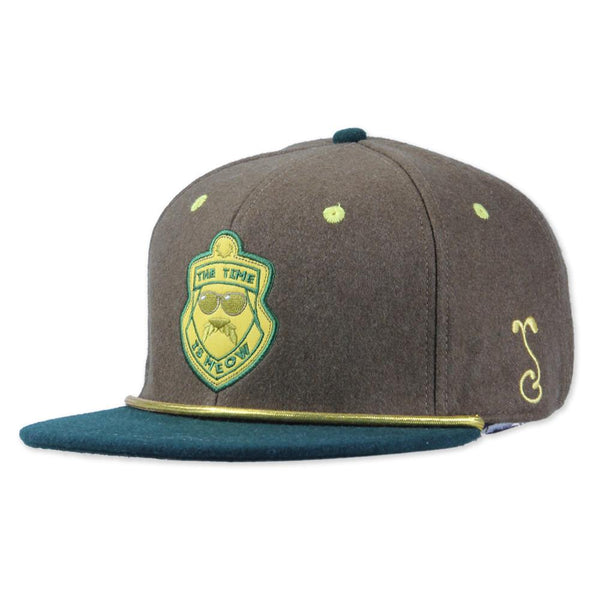 Super Troopers Brown Fitted - Grassroots California - 1