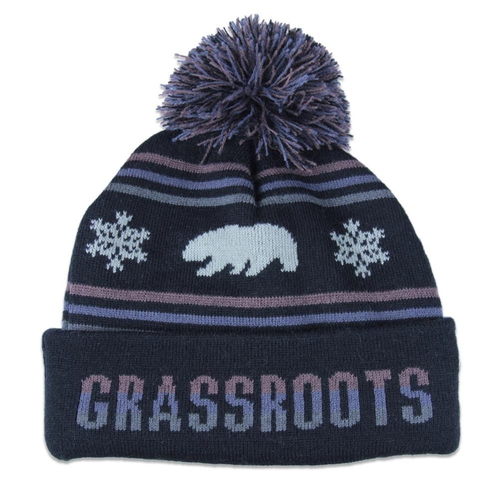 College GRC Black Brown Beanie