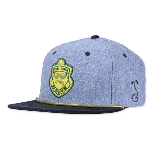 Super Troopers Gray Snapback - Grassroots California - 1