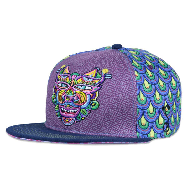 Chris Dyer Warrior Snapback - Grassroots California - 1