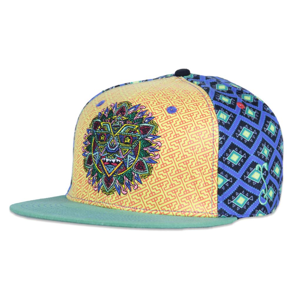 Chris Dyer Mandala Sun Fitted - Grassroots California - 1