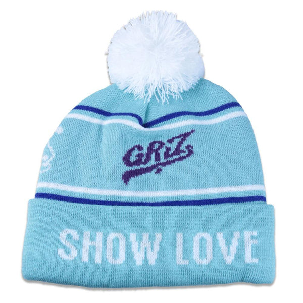 GRiZ Teal College Beanie - Grassroots California - 1