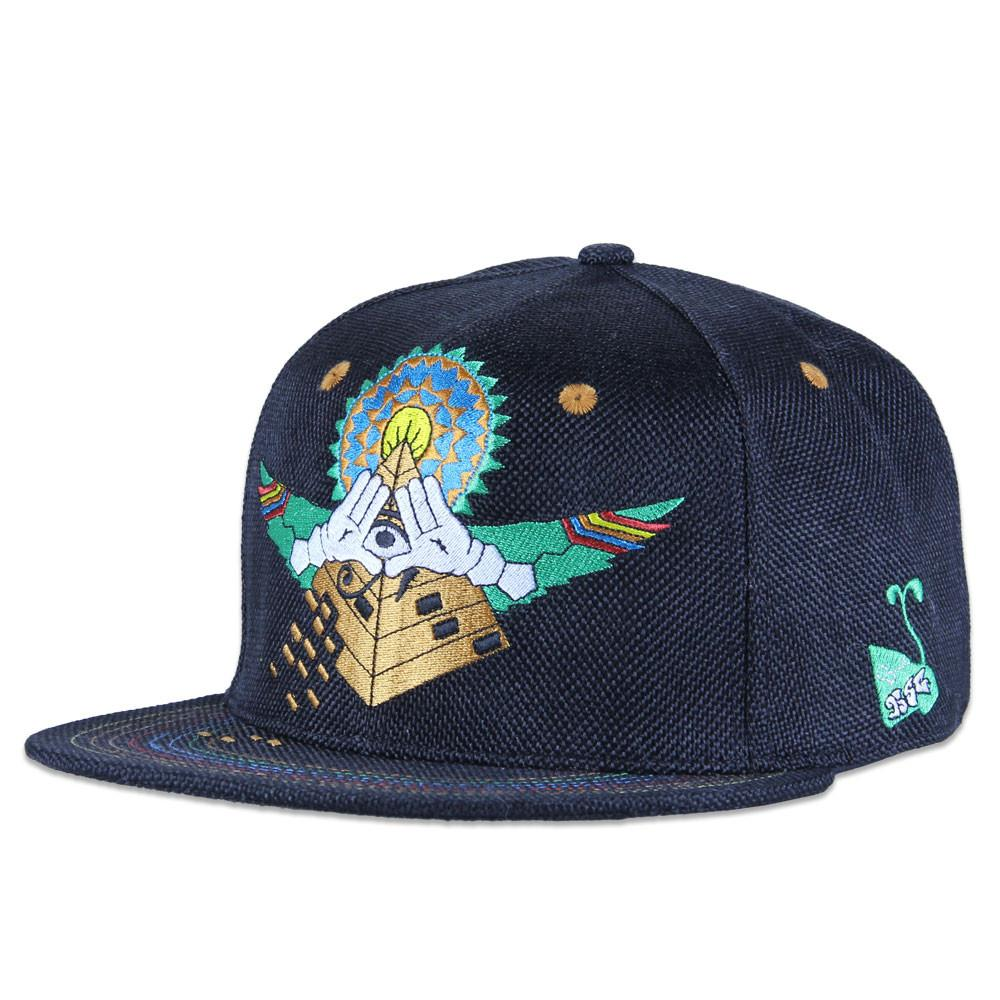 Hyperspace Goods Black Snapback - Grassroots California - 1