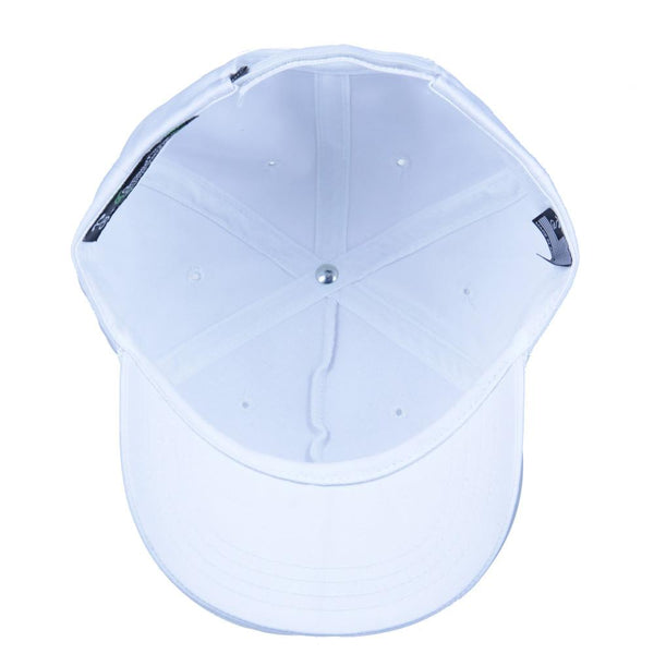 Make the Lakes Great Again White Strapback - Grassroots California - 2