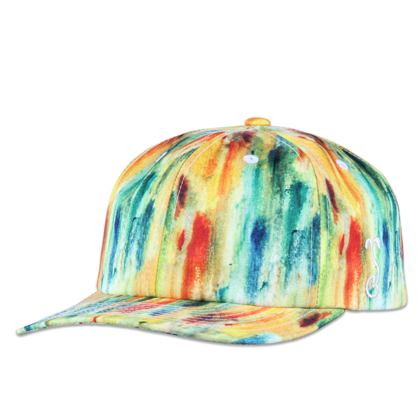 Jerry Garcia Watercolor Yellow Dad Hat - Grassroots California - 1
