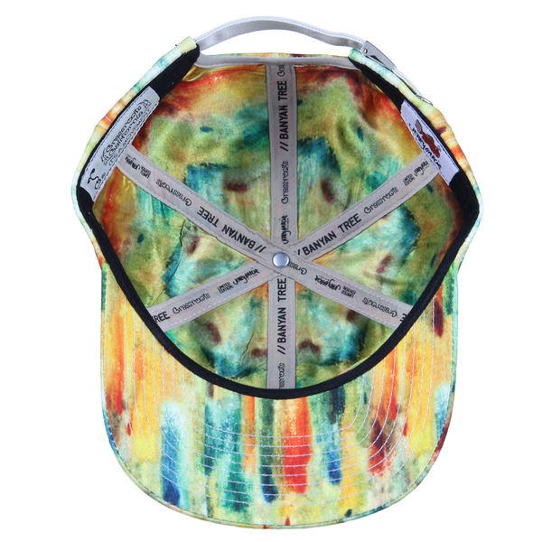 Jerry Garcia Watercolor Yellow Dad Hat - Grassroots California - 2