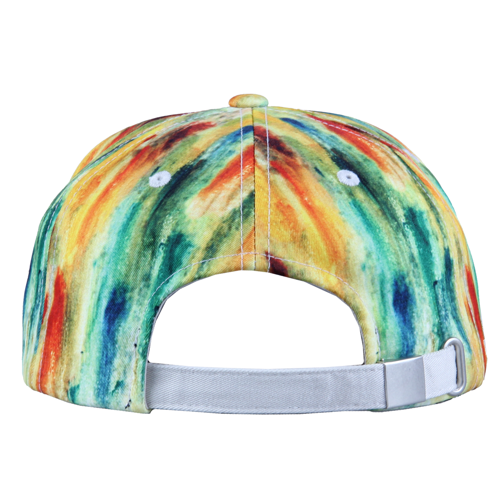 Jerry Garcia Watercolor Yellow Dad Hat - Grassroots California - 3