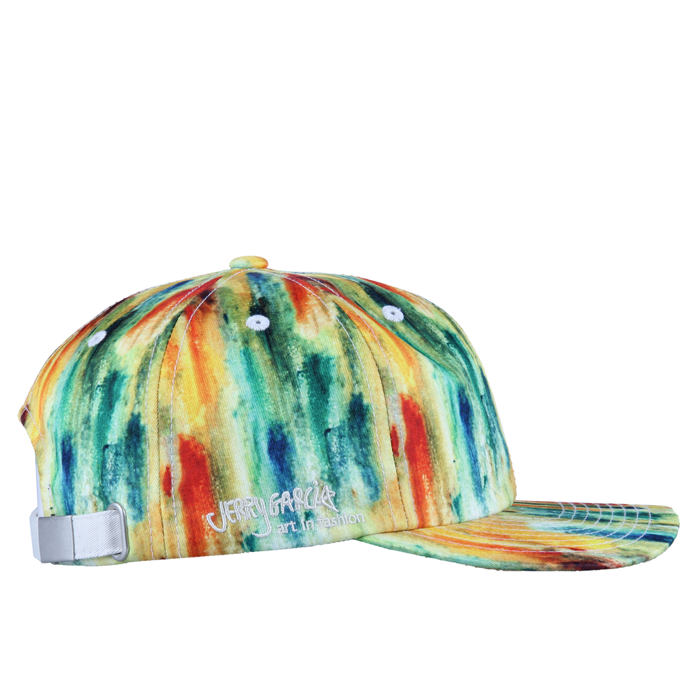 Jerry Garcia Watercolor Yellow Dad Hat - Grassroots California - 4