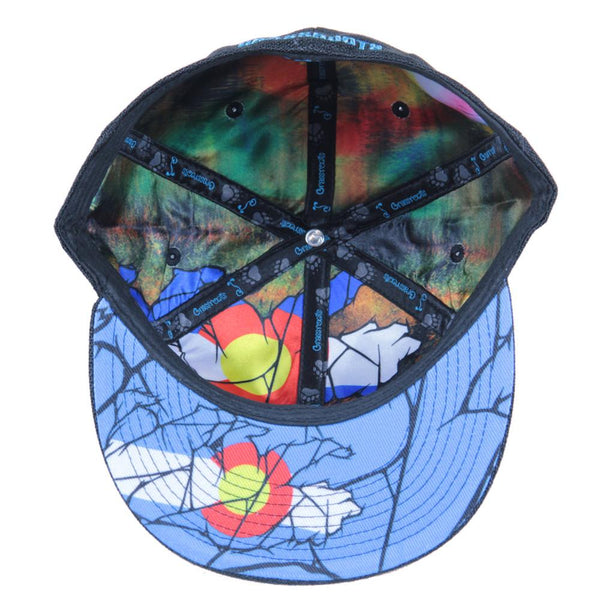 Colorado Mosaic Bear Black Fitted - Grassroots California - 2