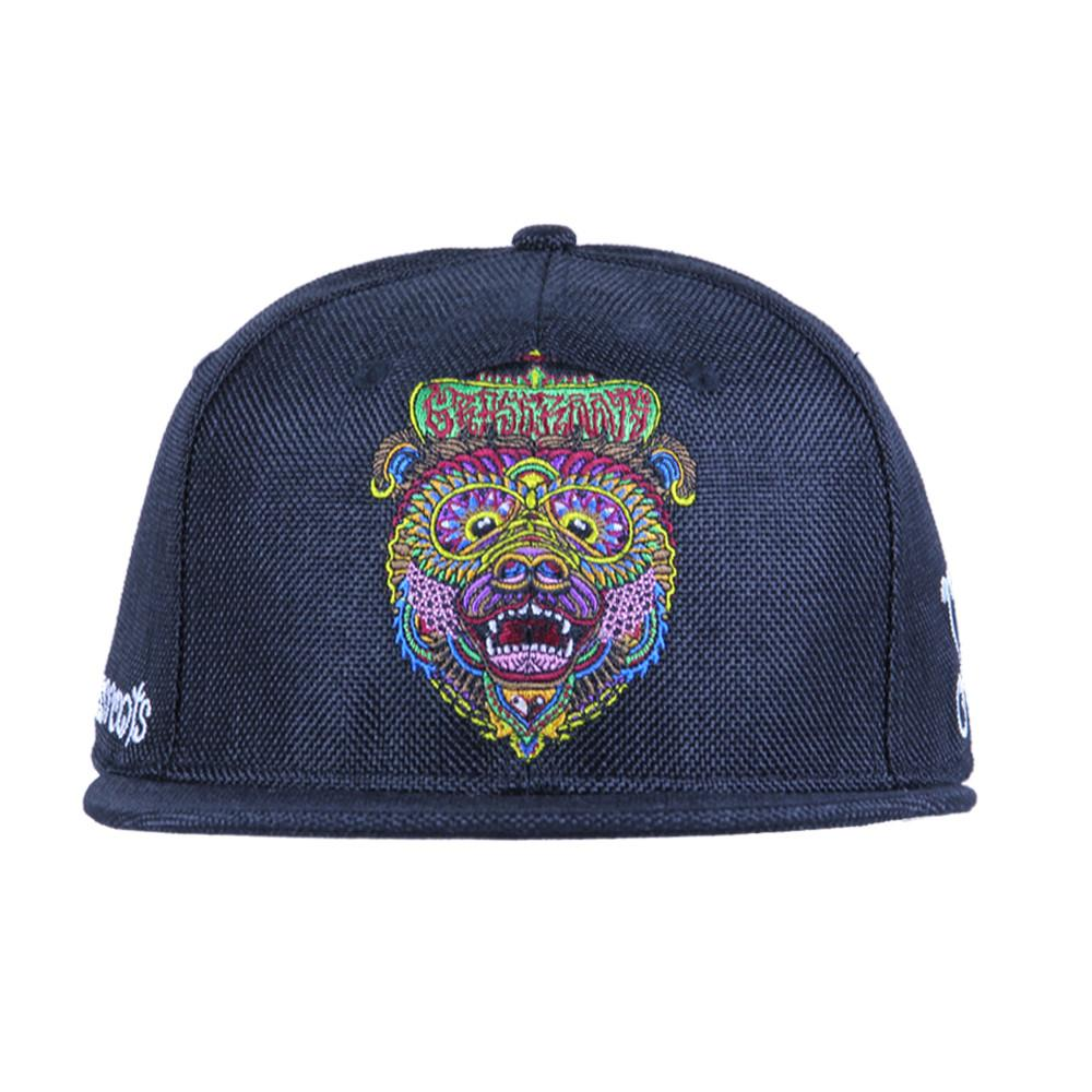 Chris Dyer OG Bear Black Hemp Fitted - Grassroots California - 6