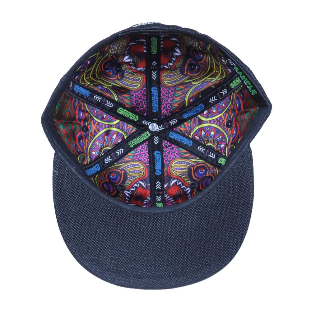 Chris Dyer OG Bear Black Hemp Fitted - Grassroots California - 2