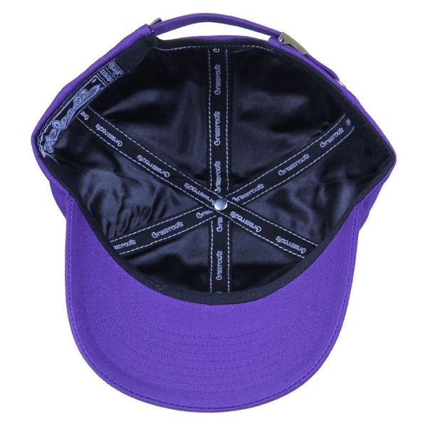 Royal Roots Purple Dad Hat - Grassroots California - 2