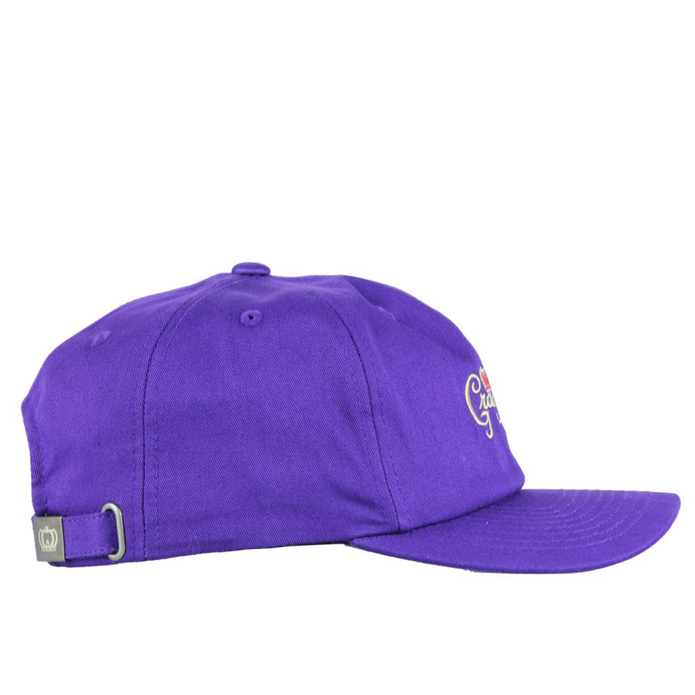 Royal Roots Purple Dad Hat - Grassroots California - 4