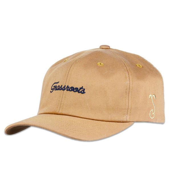 Grassroots Copper Script Dad Hat - Grassroots California - 1