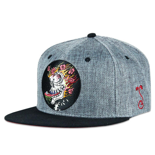 Stanley Mouse Sugar Cube Gray Snapback