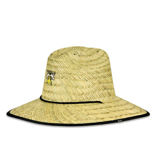 Aaron Brooks Straw Hat w/ Pin