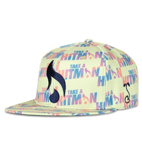 Hitman Glass Tan Snapback Hat