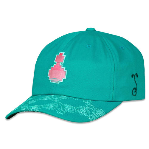 Freddy Todd Mandelbrot Teal Dad Hat
