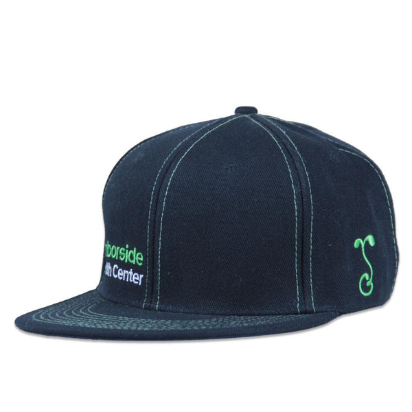 Harborside V3 Black Fitted - Grassroots California - 1