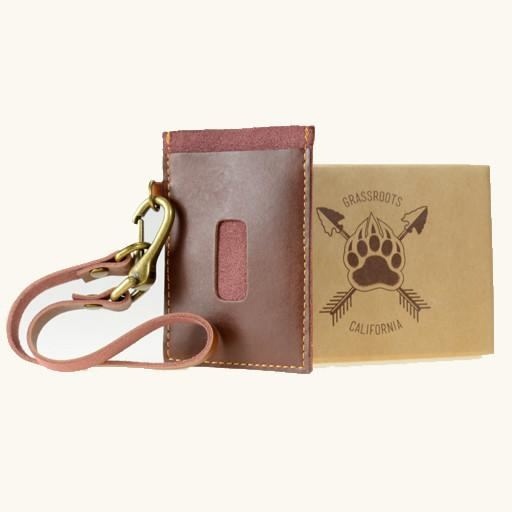 Bear Scout Paw Leather Card Holder Wallet - Grassroots California - 2