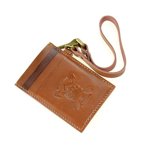 Bear Scout Paw Leather Card Holder Wallet - Grassroots California - 3