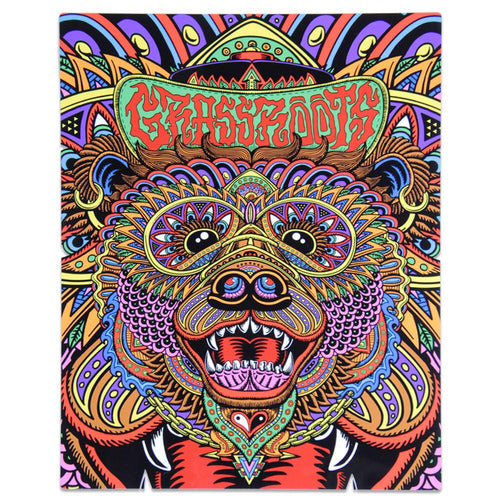 Chris Dyer OG Bear Metal Artwork - Grassroots California - 1