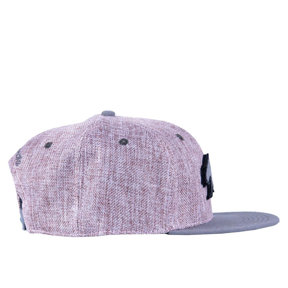 Removable Bear Pink Hemp Snapback - Grassroots California - 5