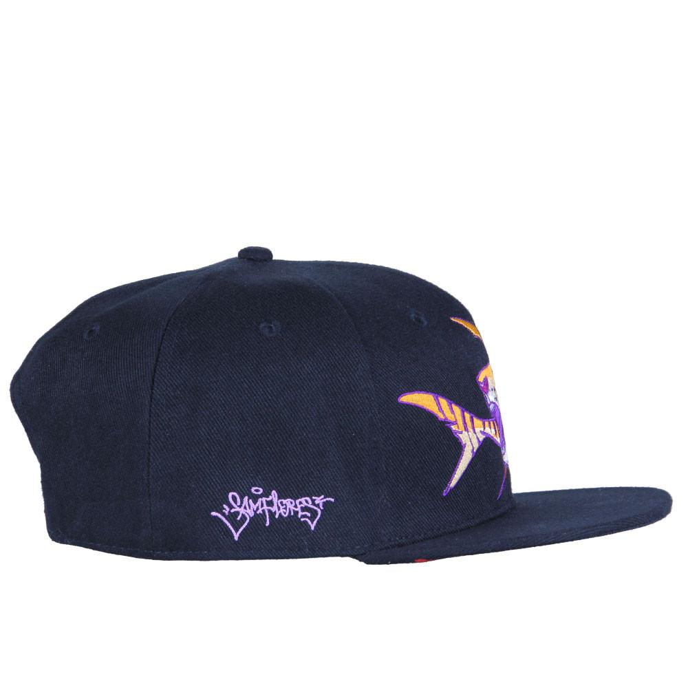 Sam Flores Tiger Shark Black Snapback - Grassroots California - 4