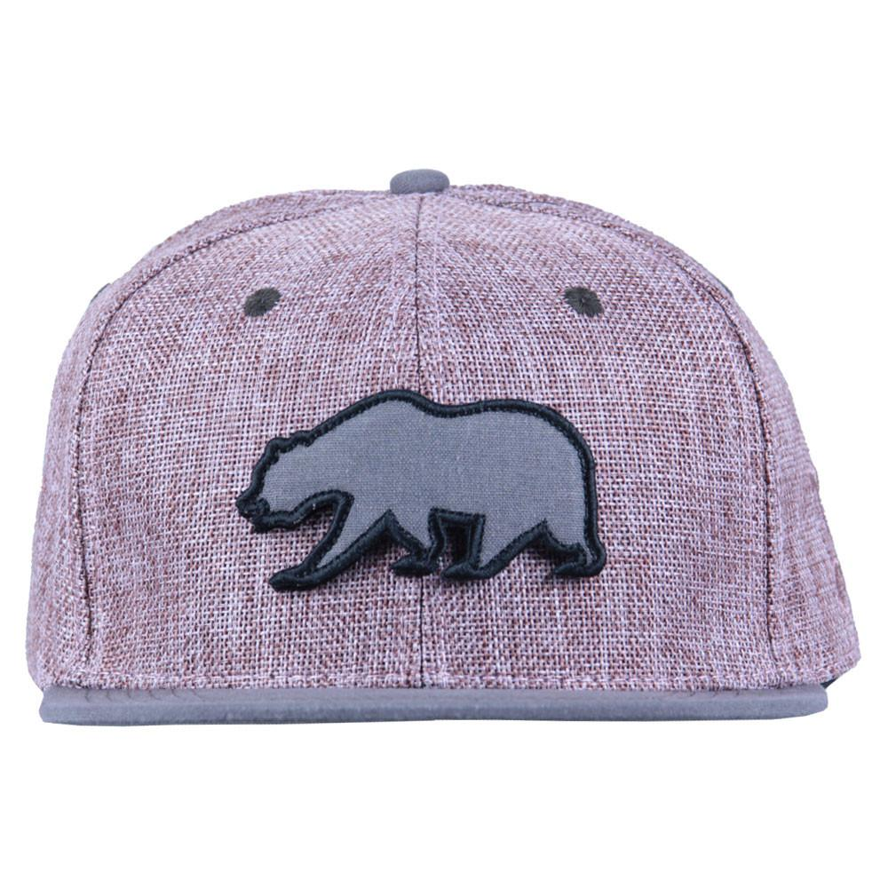 Removable Bear Pink Hemp Snapback - Grassroots California - 7