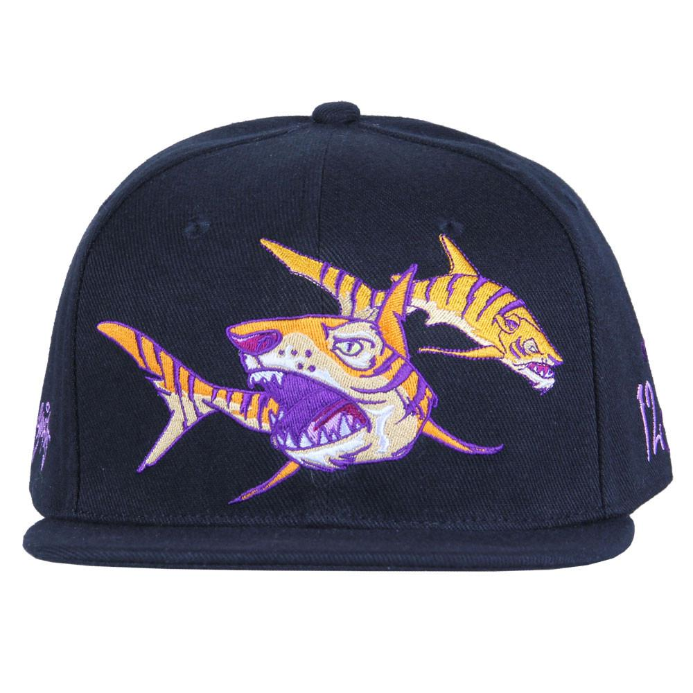 Sam Flores Tiger Shark Black Snapback