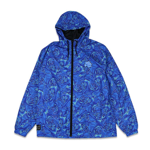 Stanley Mouse Allover Blue Rose Windbreaker Jacket