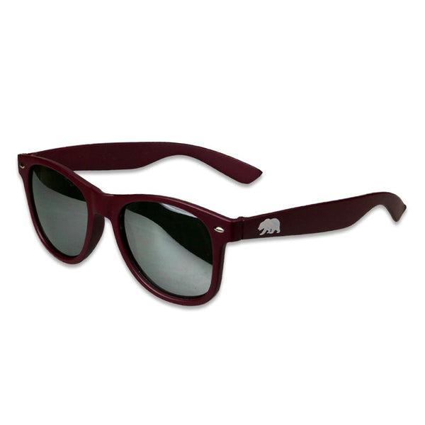 Matte Burgundy Sunglasses