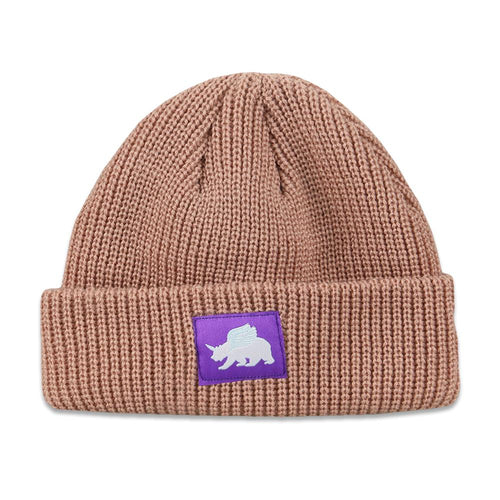 Unicorn Bear Pink Kids Beanie