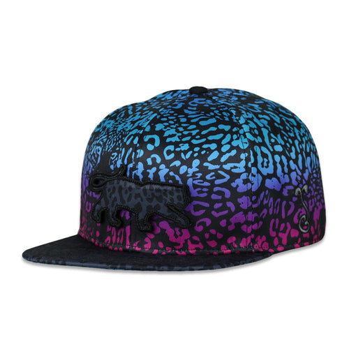 Spots Blue Fitted Hat