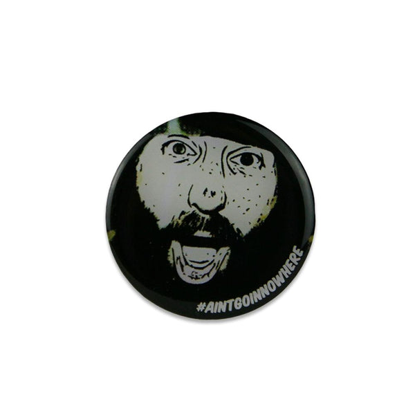 Jason Margolies #aintgoinnowhere Pin