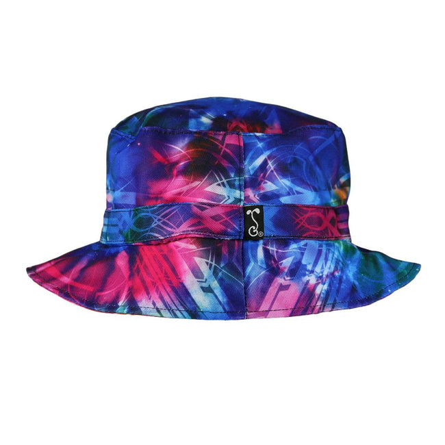 Tech Tie Dye Reversible Bucket Hat
