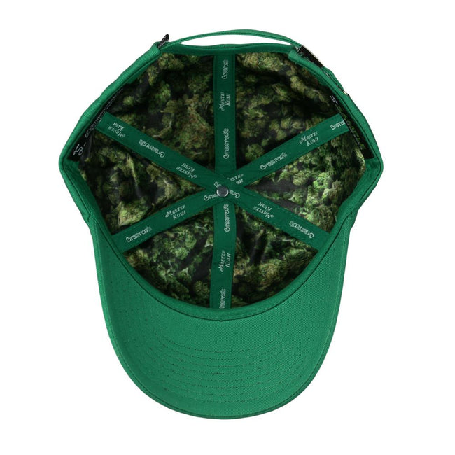 Master Kush Script Green Dad Hat